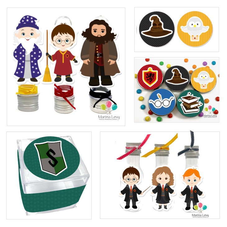 Kit Festa Premium 3D - Harry Potter