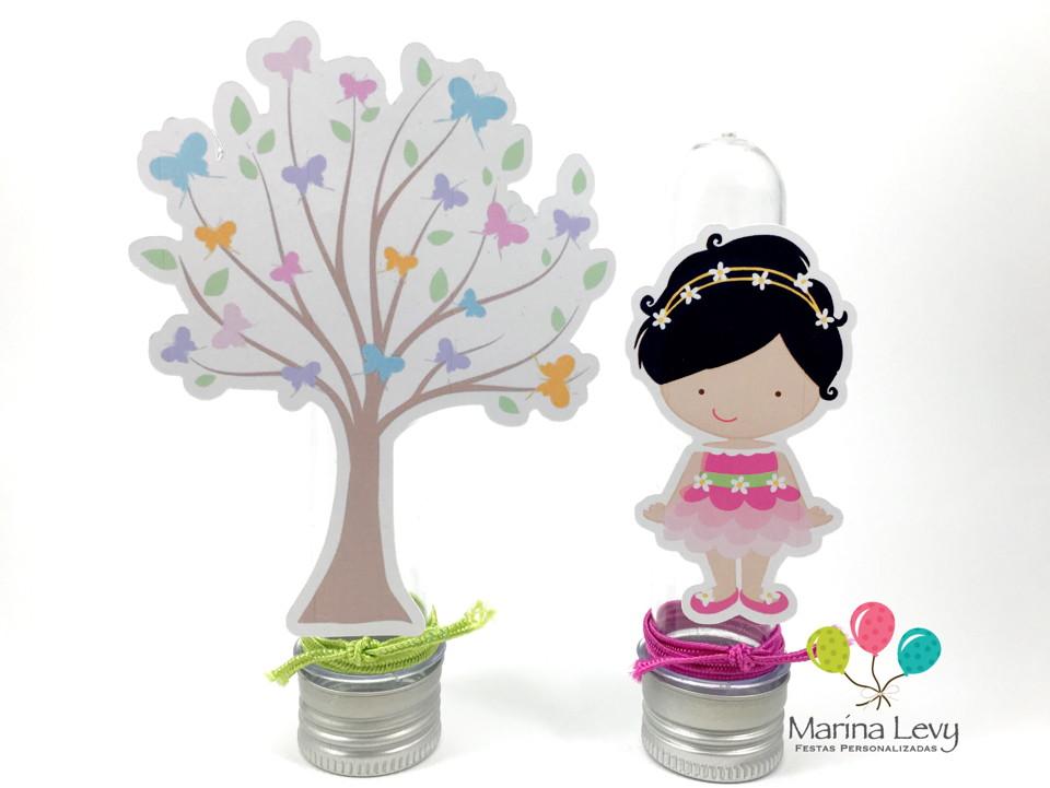 Kit Festa Premium 3D - Jardim  - Marina Levy Festas