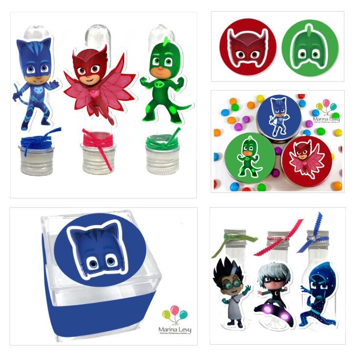 Kit Festa Premium 3D - PJ Masks