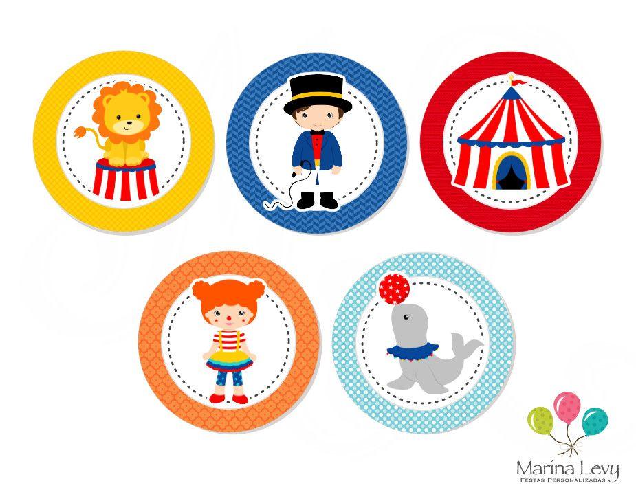 Kit Festa Premium - Circo  - Marina Levy Festas