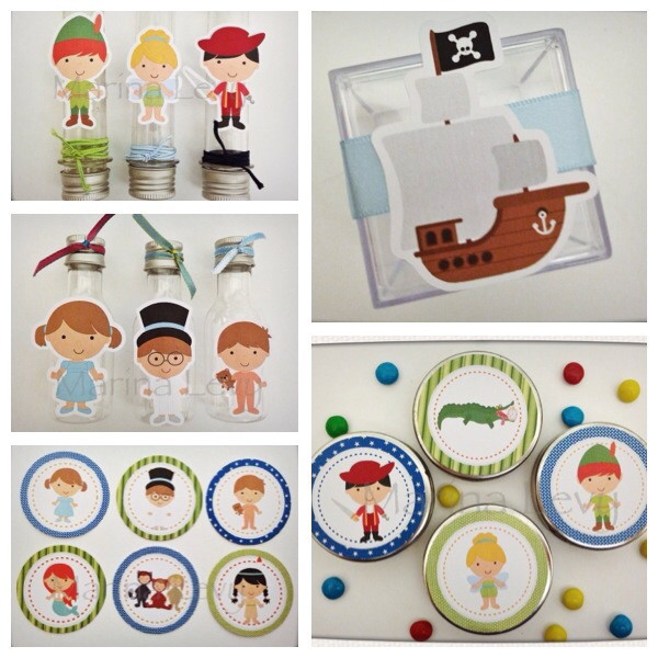 Kit Festa Premium - Peter Pan
