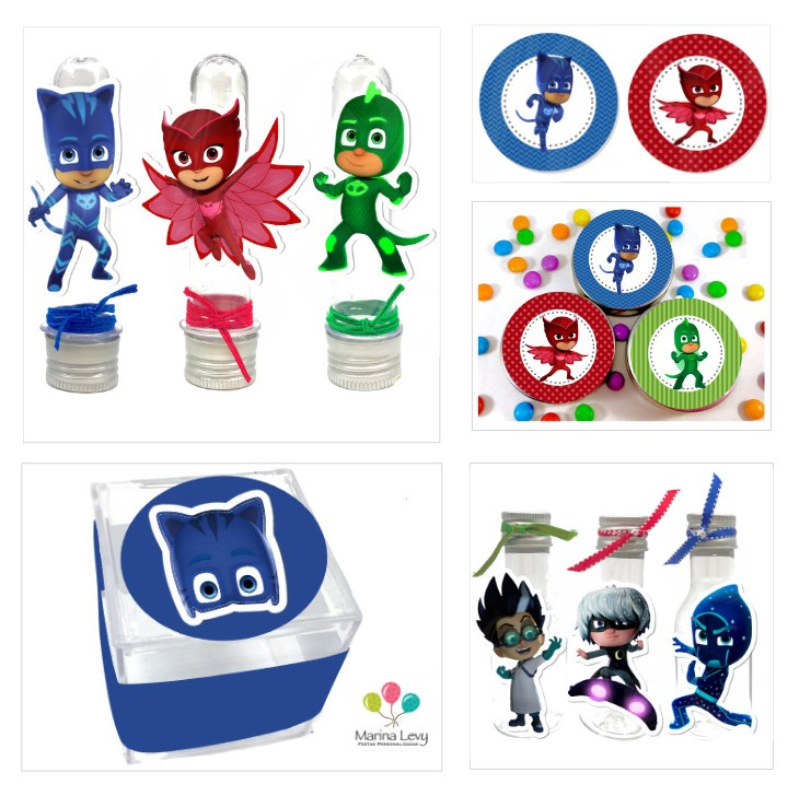 Kit Festa Premium - PJ Masks