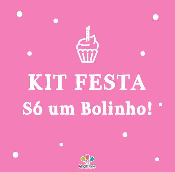 Kit Festa Só um Bolinho  - Marina Levy Festas