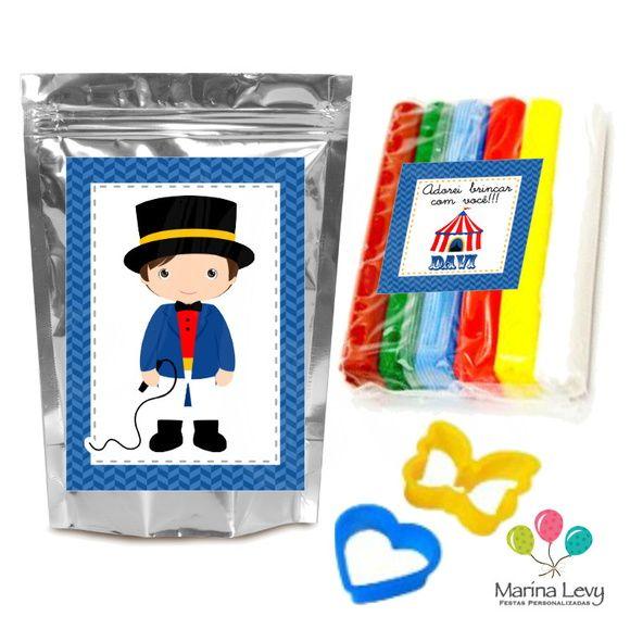 Kit Massinha de Modelar - Circo