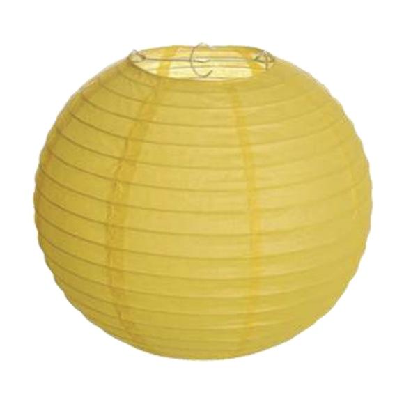 Lanterna Japonesa Amarela
