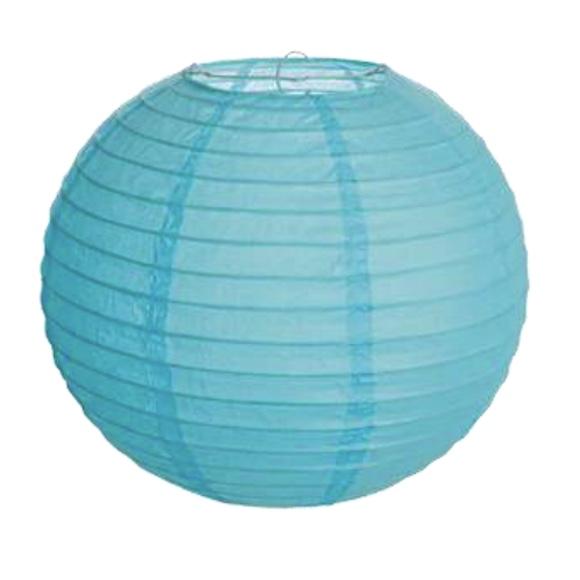 Lanterna Japonesa Azul