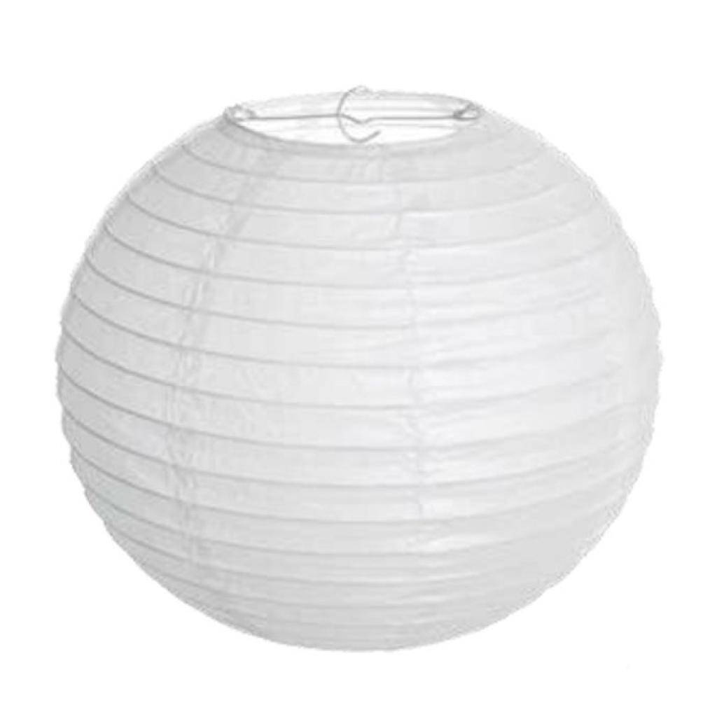 Lanterna Japonesa Branca  - Marina Levy Festas