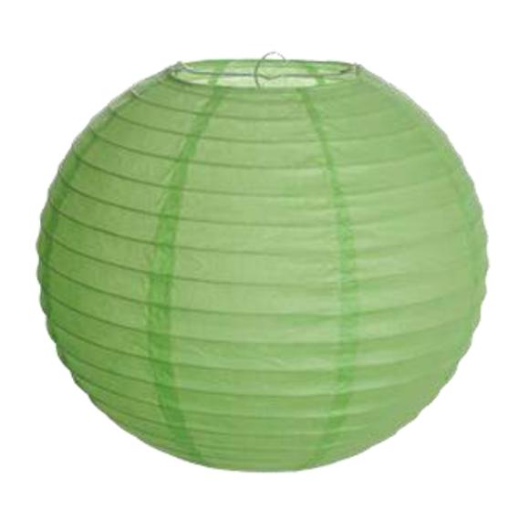 Lanterna Japonesa Verde