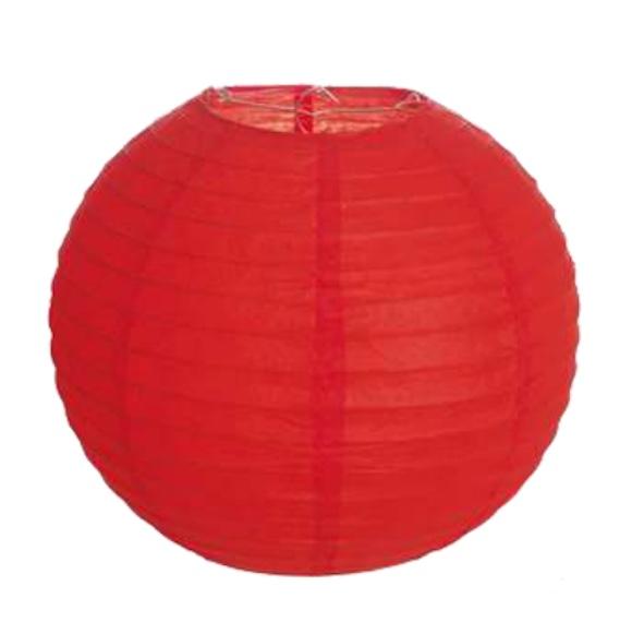 Lanterna Japonesa Vermelha  - Marina Levy Festas