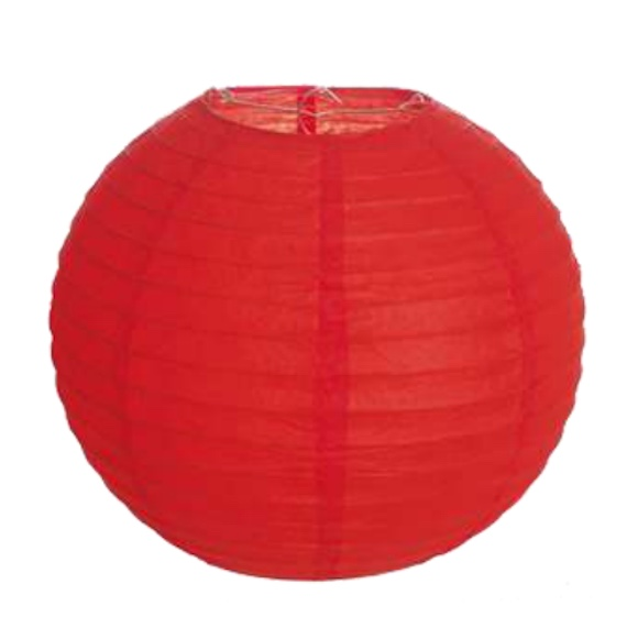Lanterna Japonesa Vermelha