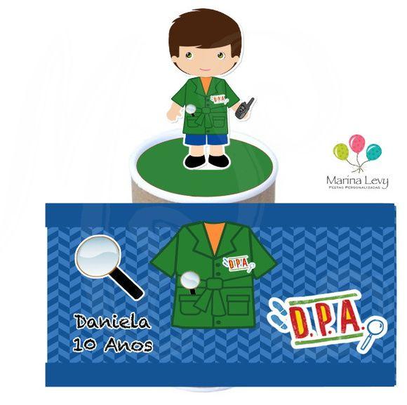 Lata com aplique 3d - DPA