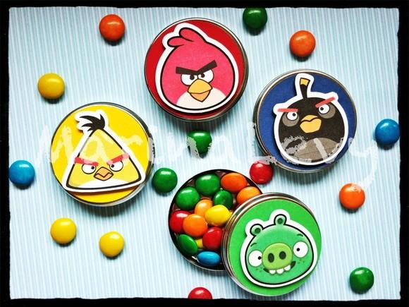 Latinha 3D - Angry Birds