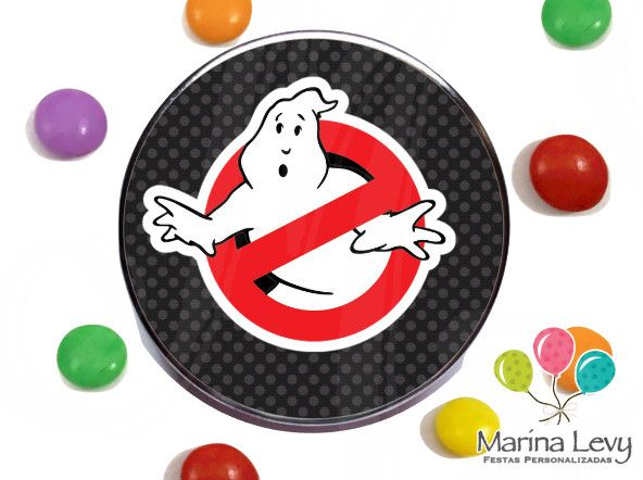 Latinha 3D - Ghostbusters