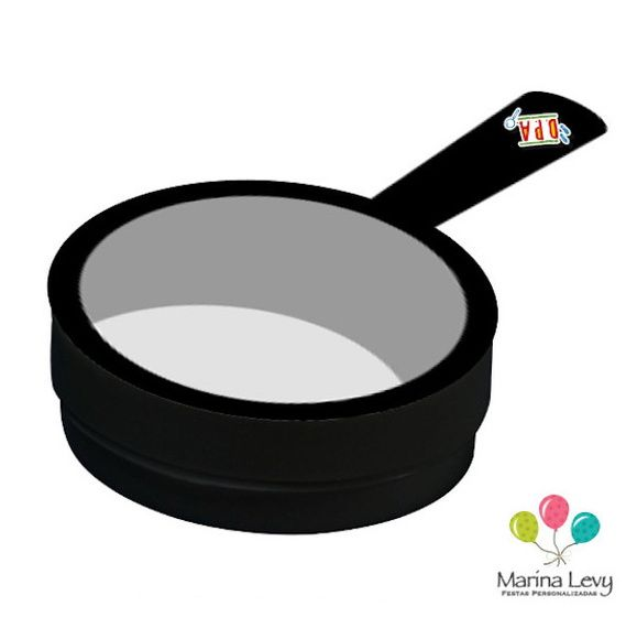 Latinha 3D - Lupa  - Marina Levy Festas
