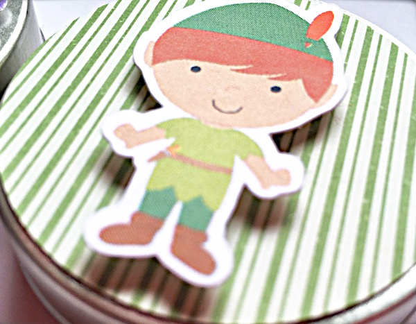 Latinha 3D - Peter Pan