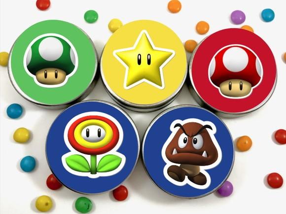 Latinha 3D - Super Mario
