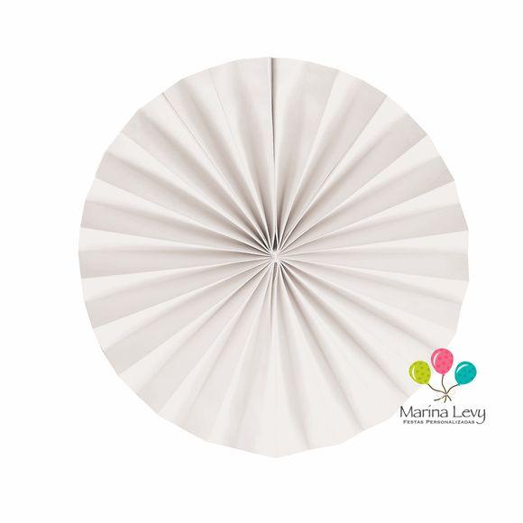 Leque Redondo  - Marina Levy Festas