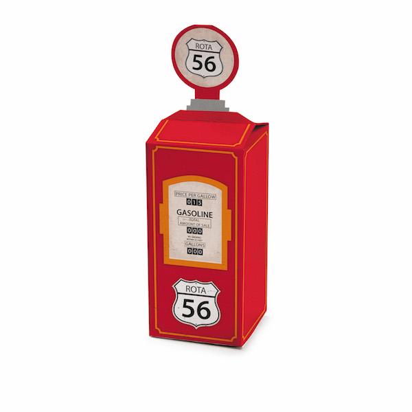 Mini Caixa - Bomba de Gasolina