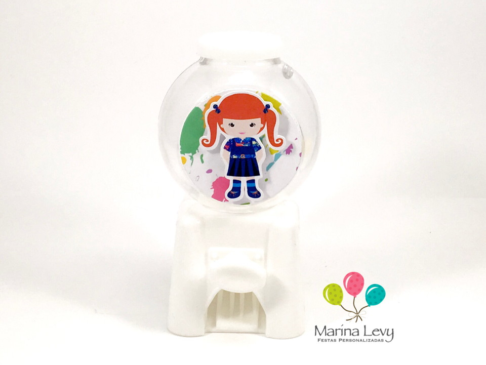 Mini Candy Machine - Chiquititas  - Marina Levy Festas