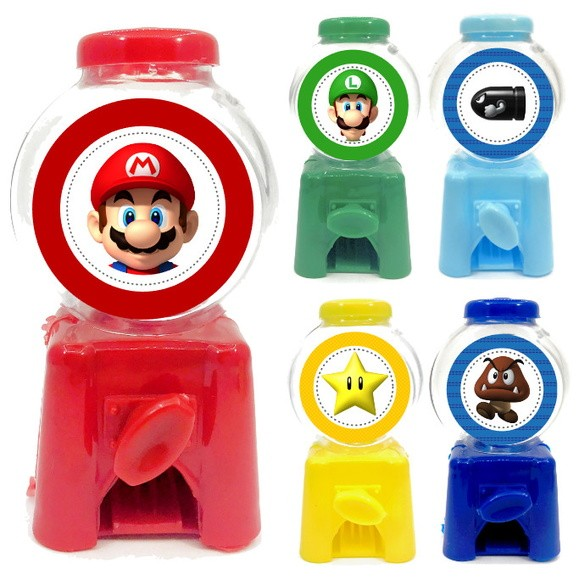 Mini Candy Machine - Super Mario