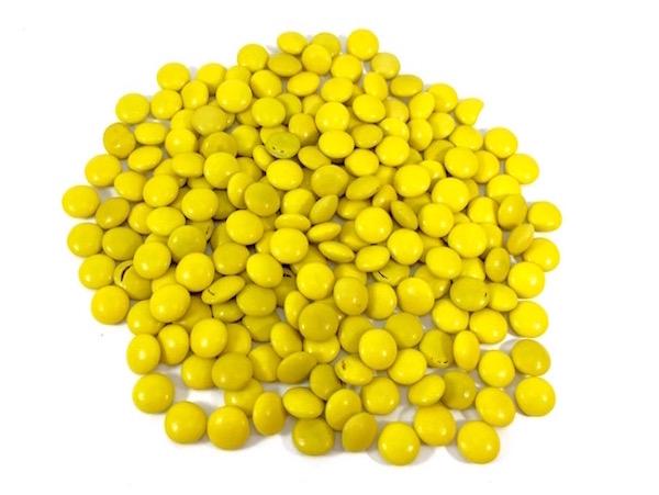 Mini Confete 300g - Amarelo
