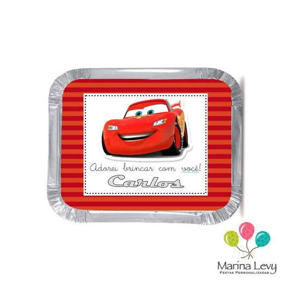Mini Marmitinha - Carros