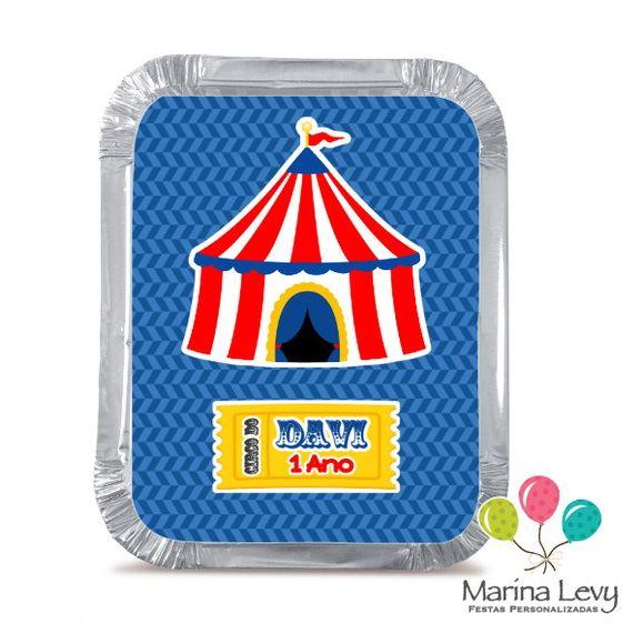 Mini Marmitinha - Circo