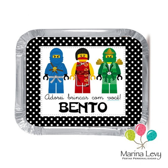 Mini Marmitinha - Ninjago