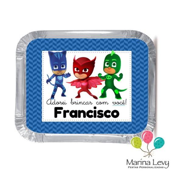 Mini Marmitinha - PJ Masks