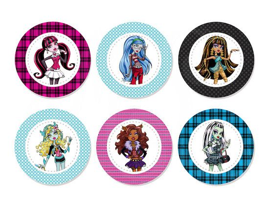 Monster High - Monte seu Kit