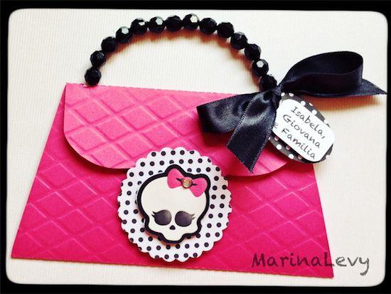 Monster High - Monte seu Kit  - Marina Levy Festas