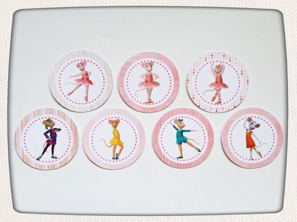 Angelina Ballerina - Monte seu Kit  - Marina Levy Festas