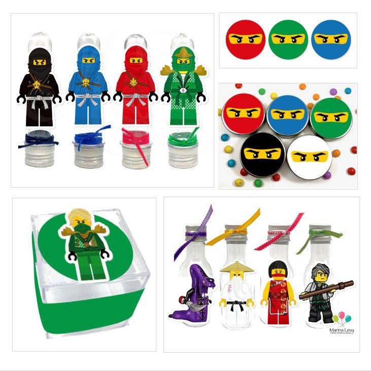 Ninjago - Monte seu Kit