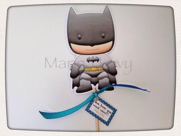 Palito Dupla Face - Batman