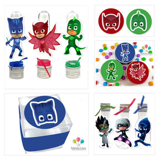 PJ Masks - Monte seu Kit