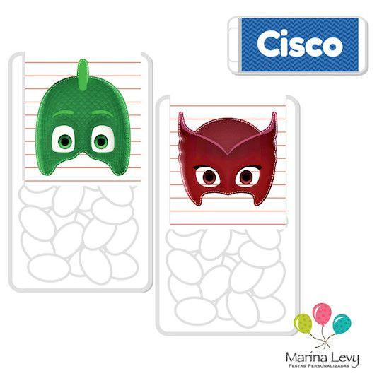 PJ Masks - Monte seu Kit  - Marina Levy Festas
