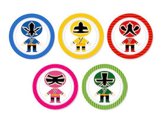 Power Rangers - Monte seu Kit