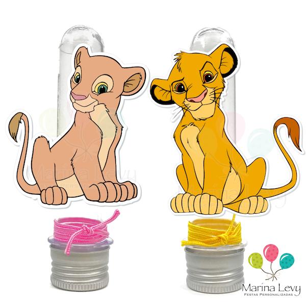 Rei Leão - Monte seu Kit  - Marina Levy Festas