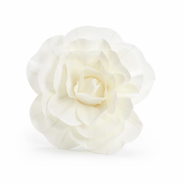 Rosa Decorativa Branca