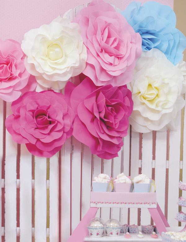 Rosa Decorativa Lilas  - Marina Levy Festas