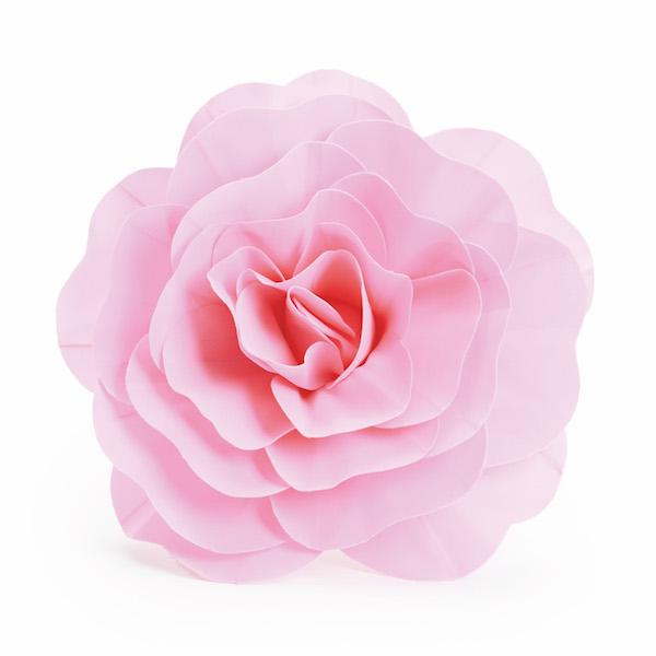 Rosa Decorativa Rosa  - Marina Levy Festas