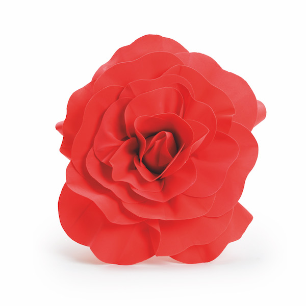 Rosa Decorativa Vermelha  - Marina Levy Festas