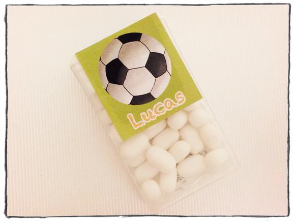 Rótulo Tic Tac 18un. - Futebol