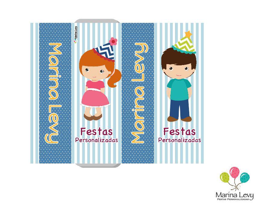 Rótulos  - Marina Levy Festas