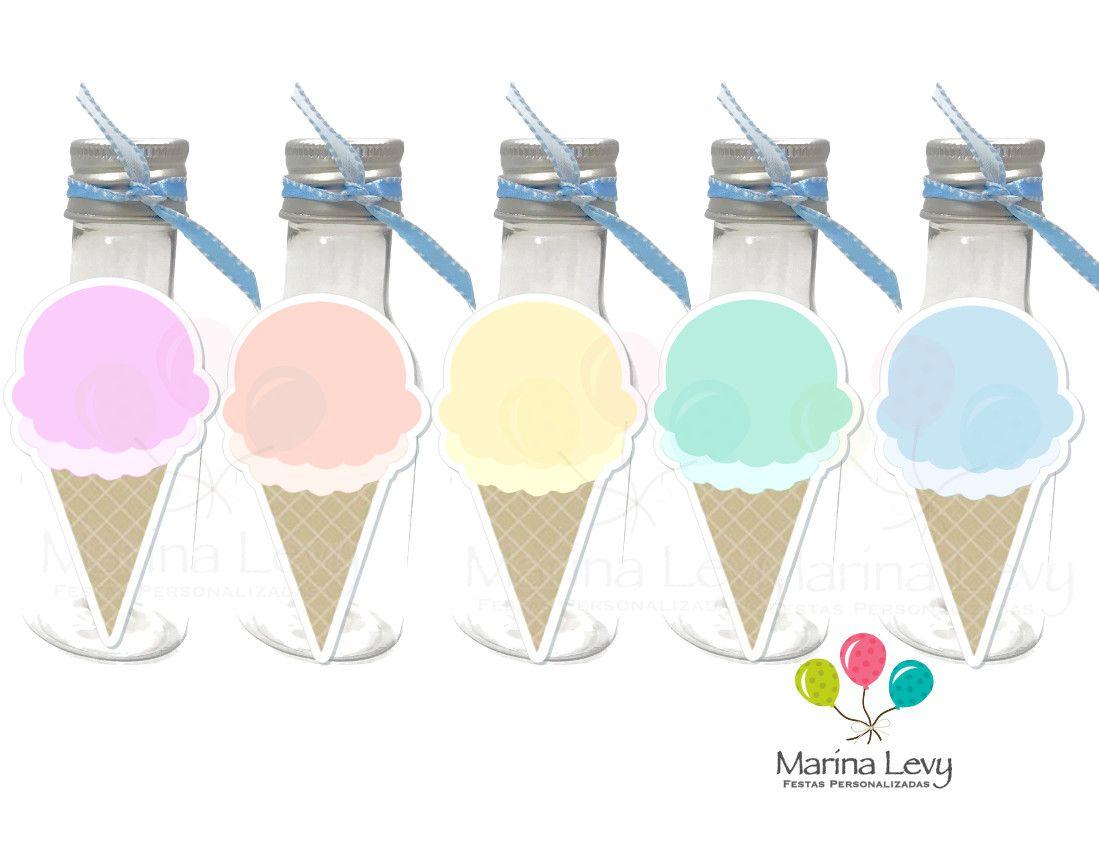 Sorvete - Monte seu Kit  - Marina Levy Festas