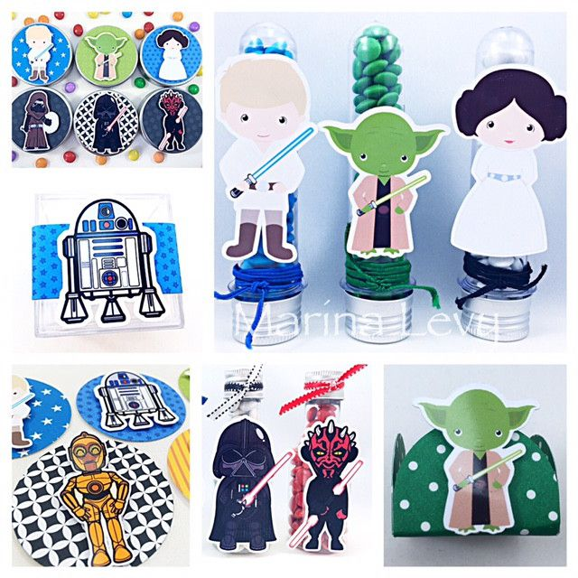 Star Wars - Monte seu Kit  - Marina Levy Festas