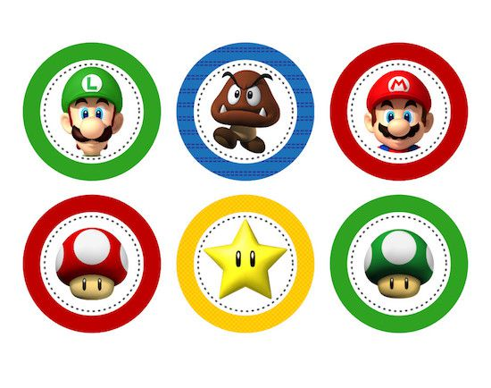 Super Mario - Monte seu Kit