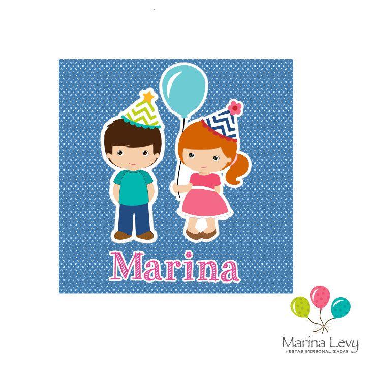 Tag de Agradecimento - 20un.  - Marina Levy Festas