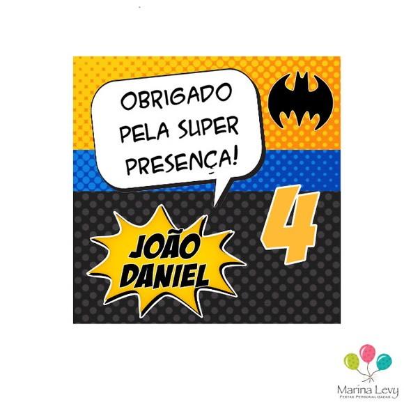Tag de Agradecimento - Batman