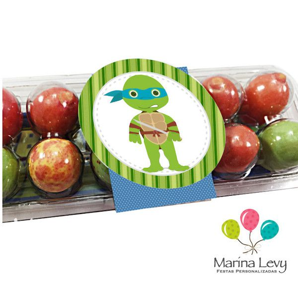Tartarugas Ninja - Monte seu Kit  - Marina Levy Festas